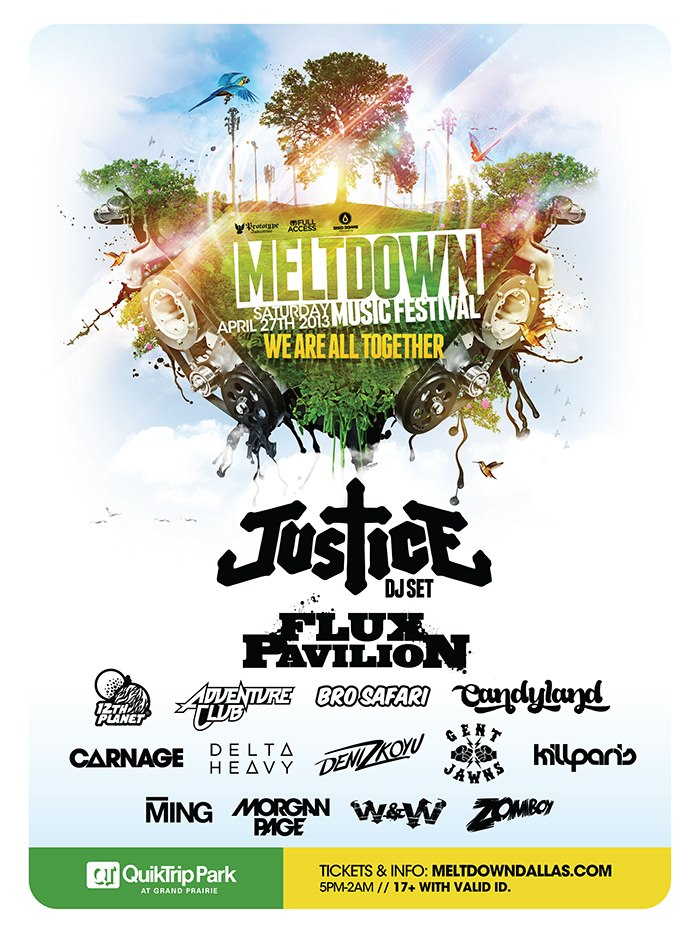 Meltdown 2013 Lineup