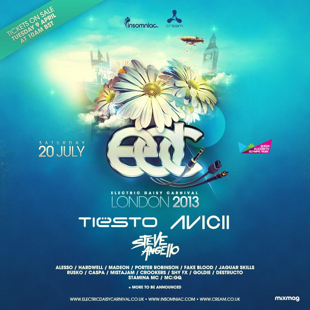 EDC London 2013 lineup